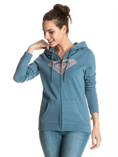 ROXY WOMENS HOODY.NEW CRUISER NIGHTS ZIP UP HOODIE HOODED JACKET TOP 7S/461/BME0